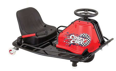 Razor Crazy Cart - Black