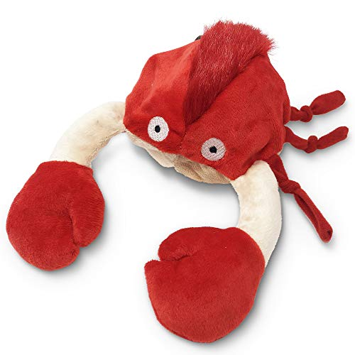 Hyper Pet Doggie Pal Crab Interactive Dog Toys (Unique Dog Toy that Wiggles, Vibrates and Barks–Plush Dog Toys for Boredom and Stimulating Play)