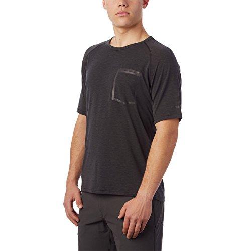 Giro Herren M Venture Jersey II Fahrradbekleidung, Black, L