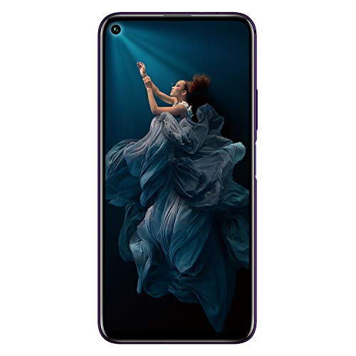 HONOR 20 Pro Dual SIM Smartphone, 6.26 Inch Display, 48 MP AI Quad Camera with Dual OIS, 8GB RAM + 256GB storage, Side Fingerprint, Phantom Black, UK Official Version