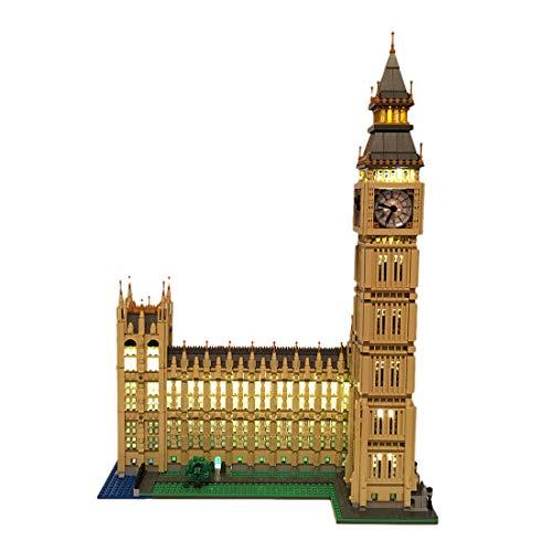 POXL Conjunto de Luces LED para ( Big Ben Monumento de Londres ) Modelo - Juego de Luces Kit de Led Compatible con Lego Creator 10253 (Lego Set No Incluido)