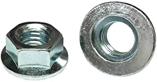 M6-1.0 Hex Serrated Flange Nuts Class 8 Zinc 200