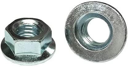 (50) M10-1.25 Hex Flange Nuts JIS Class 10 Zinc