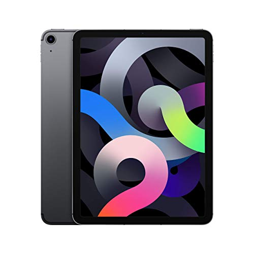 Apple iPad Air 10.9 (4. Gen) 256GB Wi-Fi + Cellular - Space Grau - Entriegelte (Generalüberholt)