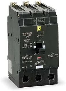 Square D Circuit Breaker, 40 Amp, 3-Pole, EDB34040