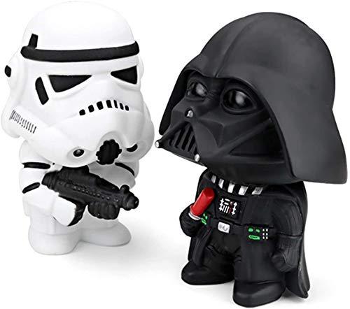JYV 2 / Conjunto de muñecas de Moda Interior Dashboard Decoración Accesorios Auto Accesorios Star Wars Dark Knight Soldado Arma Adorno Adornos