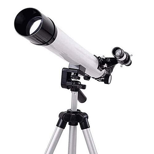 WNTHBJ Teleskop Refraktor Teleskop Für Kinder & Anfänger Mit Stativ, Mond Spiegel & Scope Barlow-Linse, Montage Okulare
