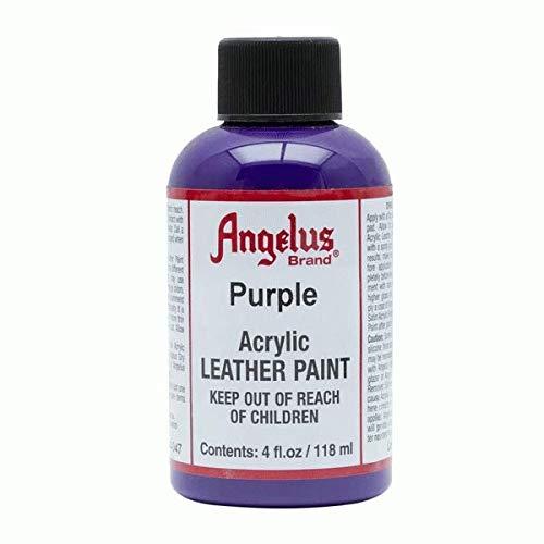 Color acrílico para cuero de Angelus, color, talla 118ml / 4oz