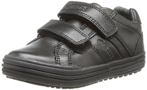 Geox Elvis - Zapatillas niños, color Negro, talla 27 EU