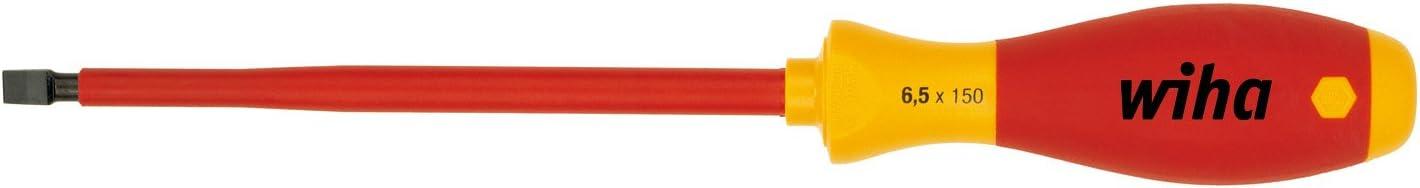 Wiha 6.5 x 150mm VDE Slotted Finish Screwdriver 正規取扱店 買い取り Soft