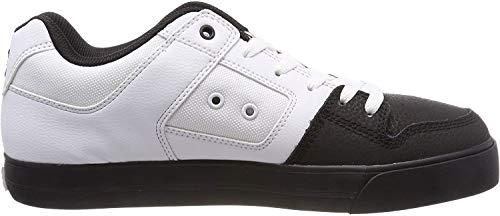 DC Shoes Herren Pure Skateboardschuhe, Weiß (White Black Wlk), 50 EU