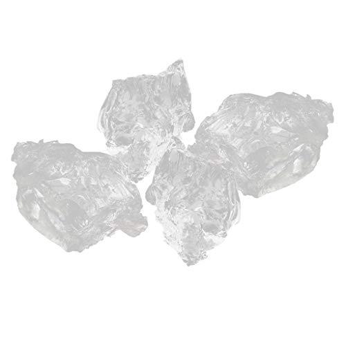 Baoblaze Cera De Gel De Parafina Transparente 400 G para La Fabricación De Velas Sin Humo, Altamente Transparente, Gelatina De Cristal, No T
