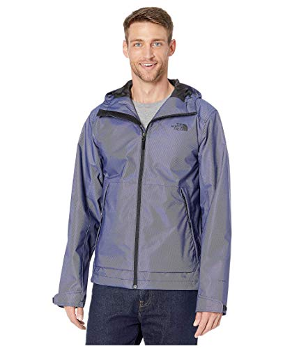 The North Face Men's Millerton Waterproof Rain Jacket, Montague Blue Denim Twill, Large