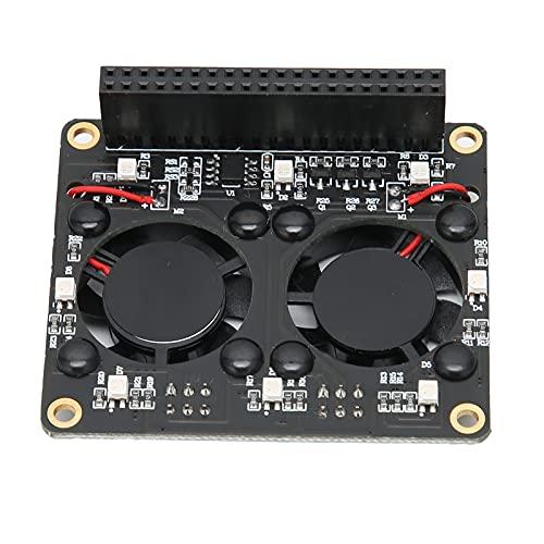 01 Ventilador de CPU, profesión de Ventilador de refrigeración de CPU Dual para computadora