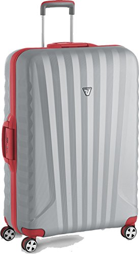 Roncato Uno SL Premium Maleta Grande Rojo, Medida: 79 x 52 x 27 cm, Capacidad: 122 l, Pesas: 4.5 kg
