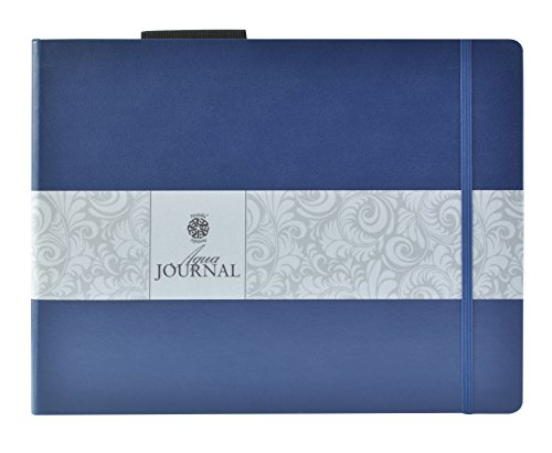Pentalic Art Watercolor Journal, 140-Pound/8-1/2-inch-by-11-inch, 8-1/2-inch x 11-inch, 48 Page