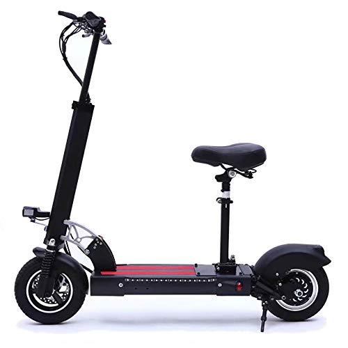CHAOPENG Scooter Elettrico,Batteria al Litio Ultra Leggero Monopattino Elettrico Piegare Design Portatile E Regolabile Lega di Alluminio Scooter Adatto Ad Adulti E Adolescenti