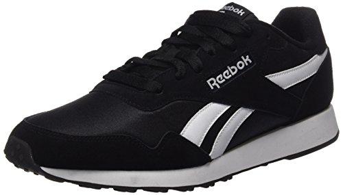 Reebok Royal Ultra, Zapatillas para Hombre, Negro (Black / White), 42 EU