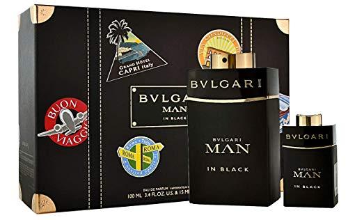 Bvlgari Man in Black 100ml Eau de Parfum + 15ml Eau de Parfum