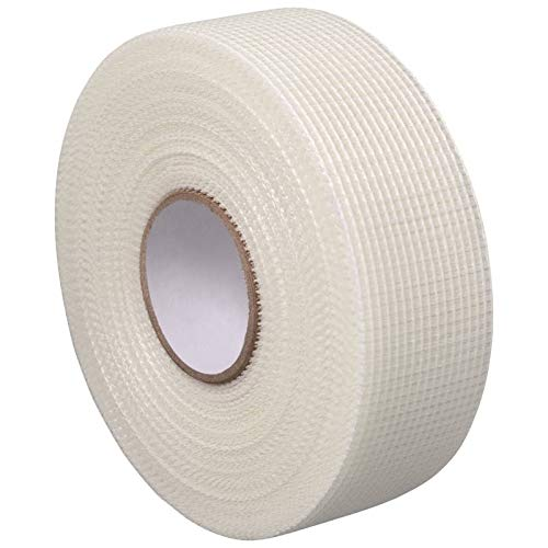 Gitterband selbstklebend 20 m x 48 mm zur Rissüberbrückung im Trockenbau Fugenband Gewebeband Gipskarton Rigips