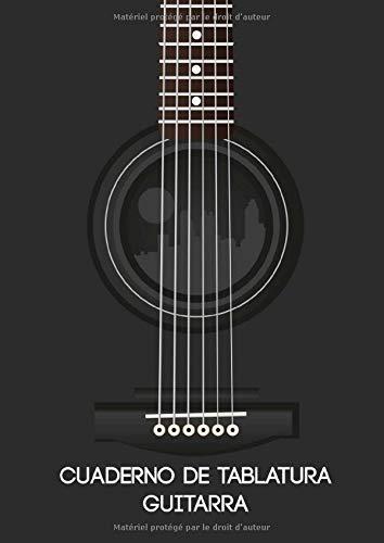 Cuaderno de tablatura guitarra: 100 páginas de diagramas de tablatura y acordes - formato A4 para guitarrista principiante o avanzado