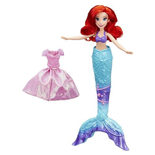 Disney Princess - Muñeca Ariel transformación mágica (Hasbro B9145EU4)