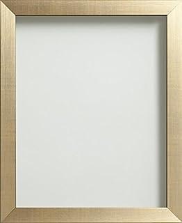 Brown /& gold cadre photo 6x4 5x7 8x6 10x8 A4 certificat standard