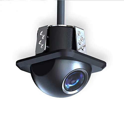 DUTTY Telecamera per retromarcia ad alta definizione con cappello di paglia, grandangolo 170 °, basso consumo, imaging a colori, adatta per l'installazione e l'uso di vari veicoli.