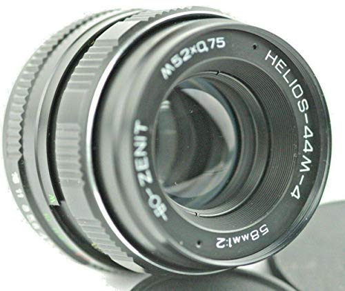 Helios 44M-4 58mm F2 Russian Lens M42 Mount