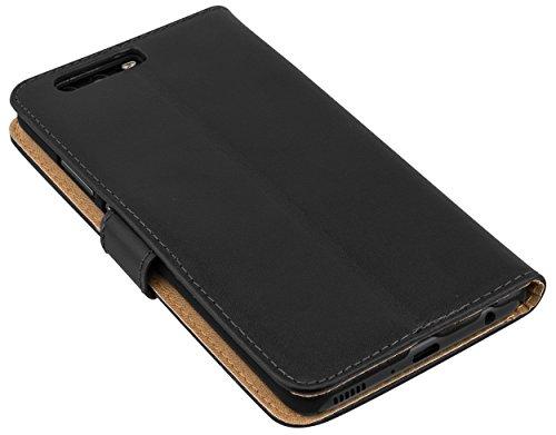 Tasche Bookstyle Case kompatibel mit Huawei Y5 II Hülle Handytasche Case Wallet, schwarz - 6