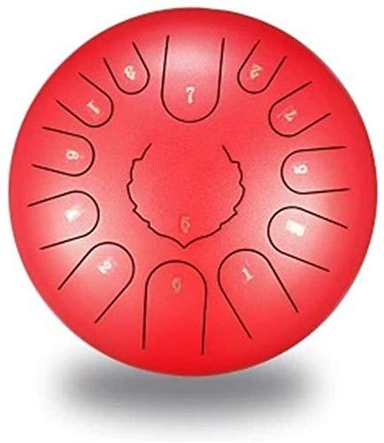 Tambor de lengua de acero tambor de acero de mano Etérea lengua Tambor de 12 pulgadas de 13 tono de la lengua Tambor de acero etérea Lengua El batería Instrumentos de percusión del tambor Disco