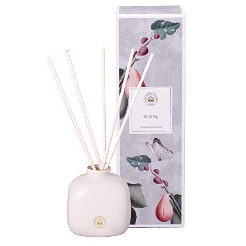 Kew Gardens Aromatics Wild Fig - Difusor de varillas de cerámica (150 ml)