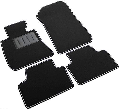 ilTappetoAuto by Fabbri3 - SPRINT00308 - Compatible avec Tapis de Voiture sur Mesure en Moquette Noire pour BMW X1