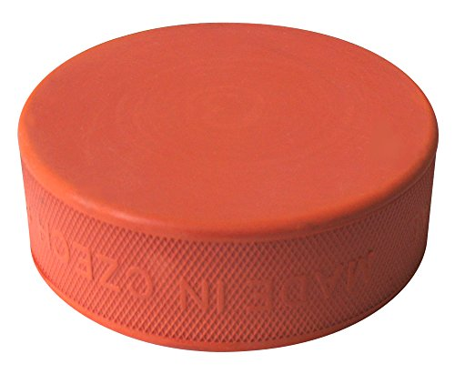A&R Sports Training Hockey Pucks, Orange, Medium