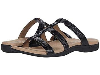 Taos Footwear Women s Nifty Black Sandal 8 M