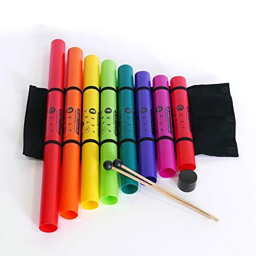Boomwhacker XTS - Set de tubos de percusión (plástico, afinados)