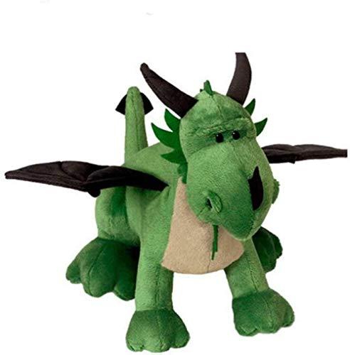 XIAN Llamamiento Qixidan Peluche Juguete Lindo Dinosaurio de Dos Cabezas de Felpa de Dos Cabezales Anime de Dibujos Animados niños de Dos Cabezas dragón niños Regalo de niño 35 cm hailing