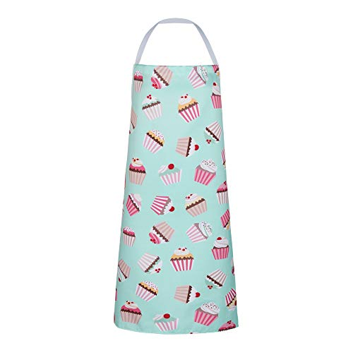Zeronal Apron for Women, Cute Cake Apron, Bib Apron for Cooking, Baking,Crafting, Work Shop, Funny Apron Novelty Cooking Chef Gift for Men-Womens Baking BBQ Grilling Kitchen Aprons
