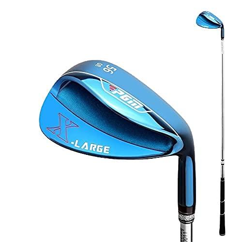 56/60 Golf Sand Wedge palos de golf diestros para hombres Golf Driver Deportes Golf Cuñas Golf Golf Sand Rod (azul, 60)