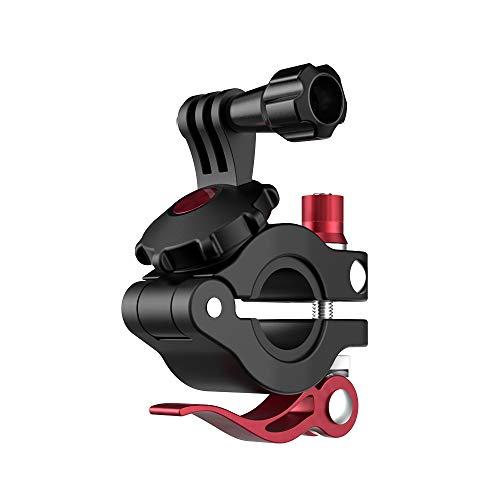 Linghuang Soporte de fijación para manillar de bicicleta Magic Bike Clamp para DJI Osmo Action/Osmo Pocket/GoPro Hero 8 Mini Super Clamp para Action Camera se adapta al manillar de 22 – 26 mm