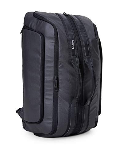 blnbag M2 – Cabin Size Backpack Reisetasche 2 in 1 wandelbar, Handgepäck Reiserucksack mit Laptopfach, Fahrradrucksack Sporttasche mit USB-Port, RFID, 40 Liter, Anthrazit