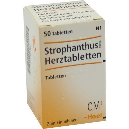 STROPHANTHUS COMP HERZTABL 50St Tabletten PZN:3915065
