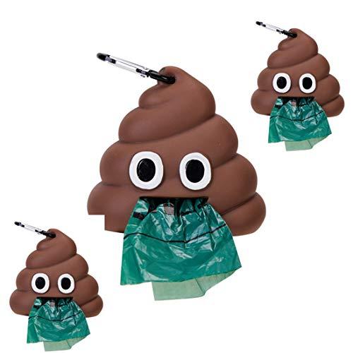 Bolsas de Caca de Perro Biodegradables con Dispensador Juego