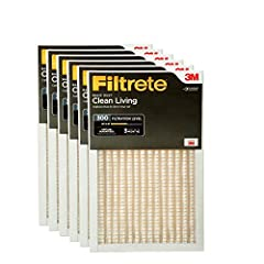 Outperforms fiberglass, washable and non electrostatic 3 month pleated 1 Inches air filters for your furnace, air conditioner, or HVAC system Exclusive Filtrate Brand 3 in 1 technology from 3M traps unwanted air particles, while letting cleaner air f...