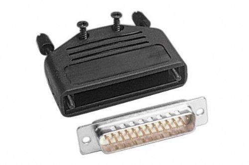 Conecticplus Kit de conectores DB25  macho para soldar