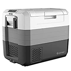 👑 【Large Capacity】This 70 Quart portable refrigerator can hold up to 99 bottles of 330ml drinks or 20 bottles of 750ml red wine. It has 2 areas for refrigeration and freezing, which can store fruits, drinks, vegetables, meat and more. It is perfect f...