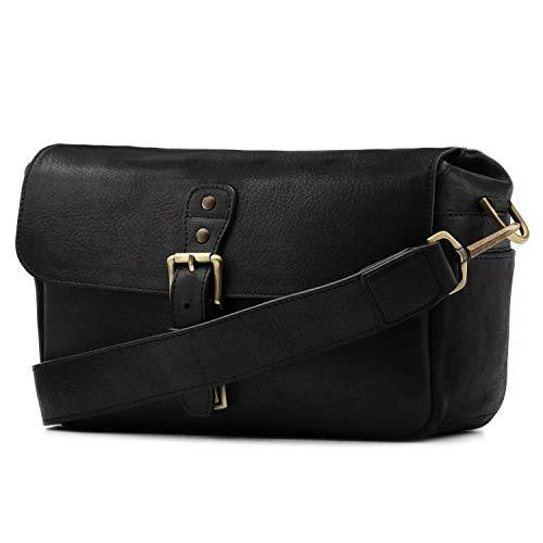 MegaGear Torres Genuine Leather Camera Messenger Bag