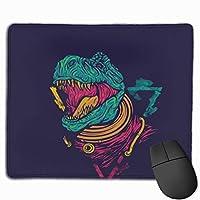 怒っている恐竜 マウスパッド ノンスリップ 防水 高級感 習慣 パターン印刷 ゲーミング ホビー 事務 おしゃれ 学習