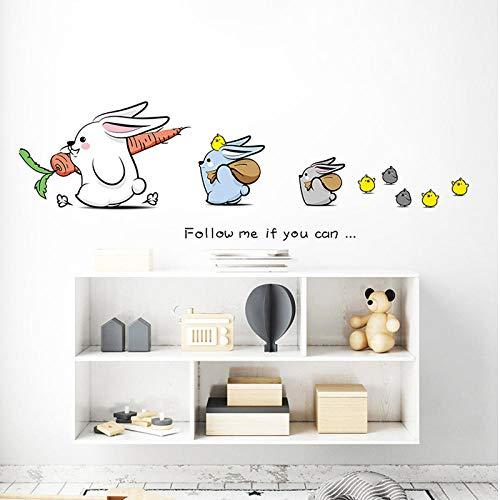 artaslf - Adhesivo decorativo para pared, diseño de cómic, decoración de habitación de niños, casa, creativa, pegatinas para puerta de escaleras, pegatinas para decoración de pared, decoración de dormitorio, 45 x 60 cm
