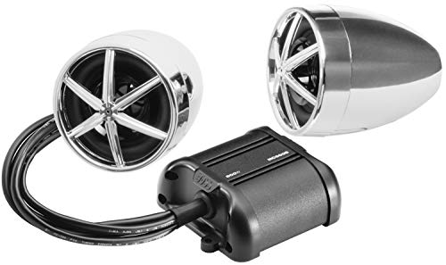 BOSS Audio Systems MC600B Bluetooth, All-Terrain, Weatherproof Speaker And Amplifier Sound...